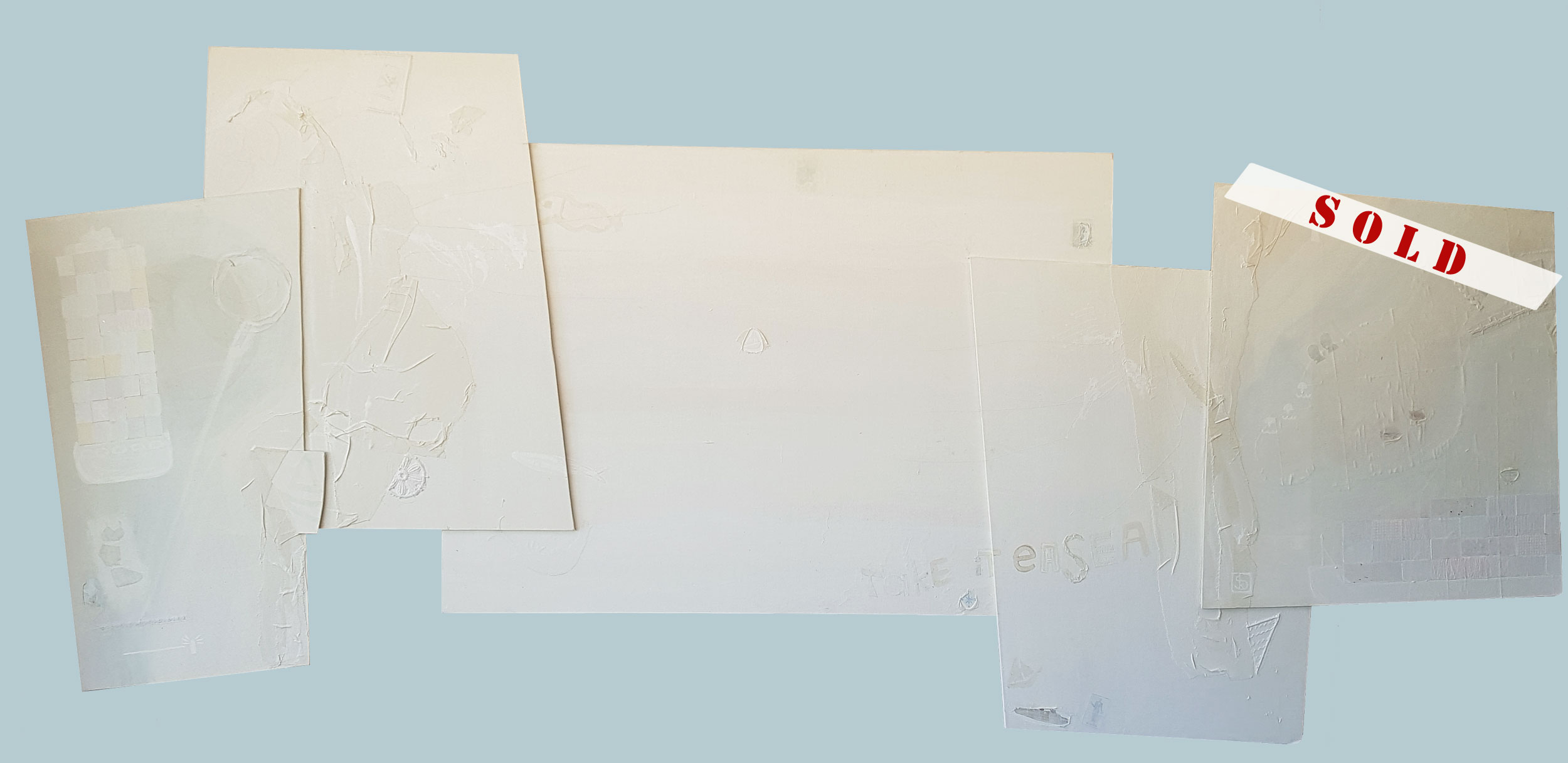 takeiteaSEA - 231 x 96 cm / 90,9 x 37,8 in