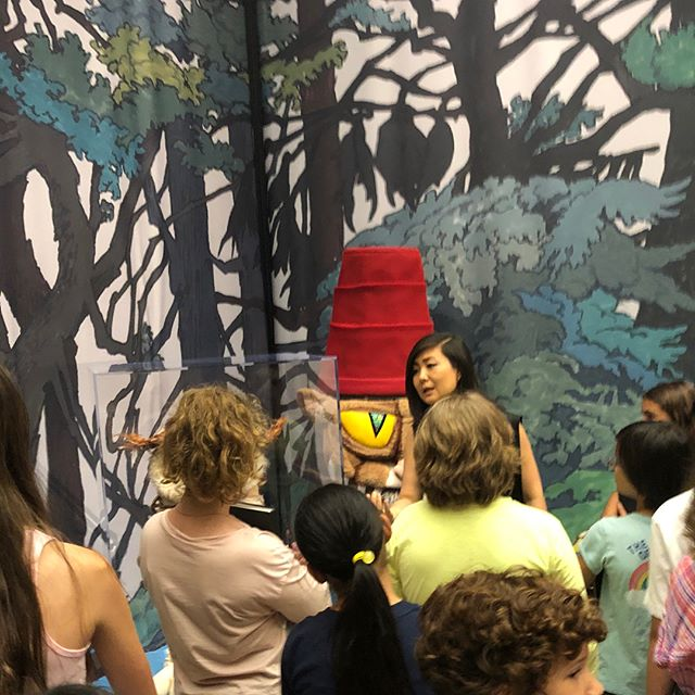 Maurice Sendak's drawings and the Gutterberg's bible @themorganlibrary Guided tour with the amazing educator Maria Yoon. #morganlibrary #mauricesendak #gutenbergbible #mariayoon #kidswork #summercamp #portfolioprep