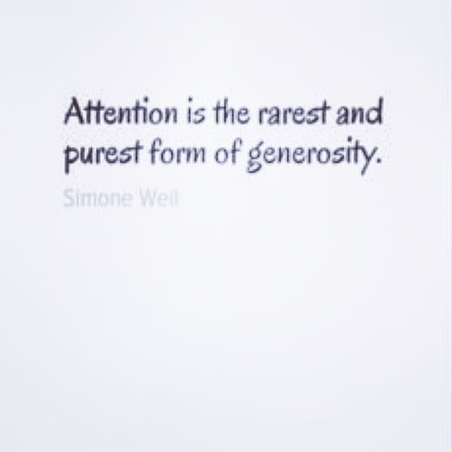 Good afternoon Tuesday. There are quotes that say do  much with very few words. So am posting because I think these words are so very important. Giving someone attention is really generosity at it's finest. Attention can mean many things. Our children need our attention more than they may need the toy they are asking for.  What kind of attention do our live relationships need?  Just a thought for the end of day.  And much gratitude to those who are liking my posts. Have a good evening. #attention #generosity #gratitude #begenerous #bemindful #powerofattention #love #powerofpositivity #powerful #poweroflove❤ #mindset #newyork #miami #miamibeach #southbeach