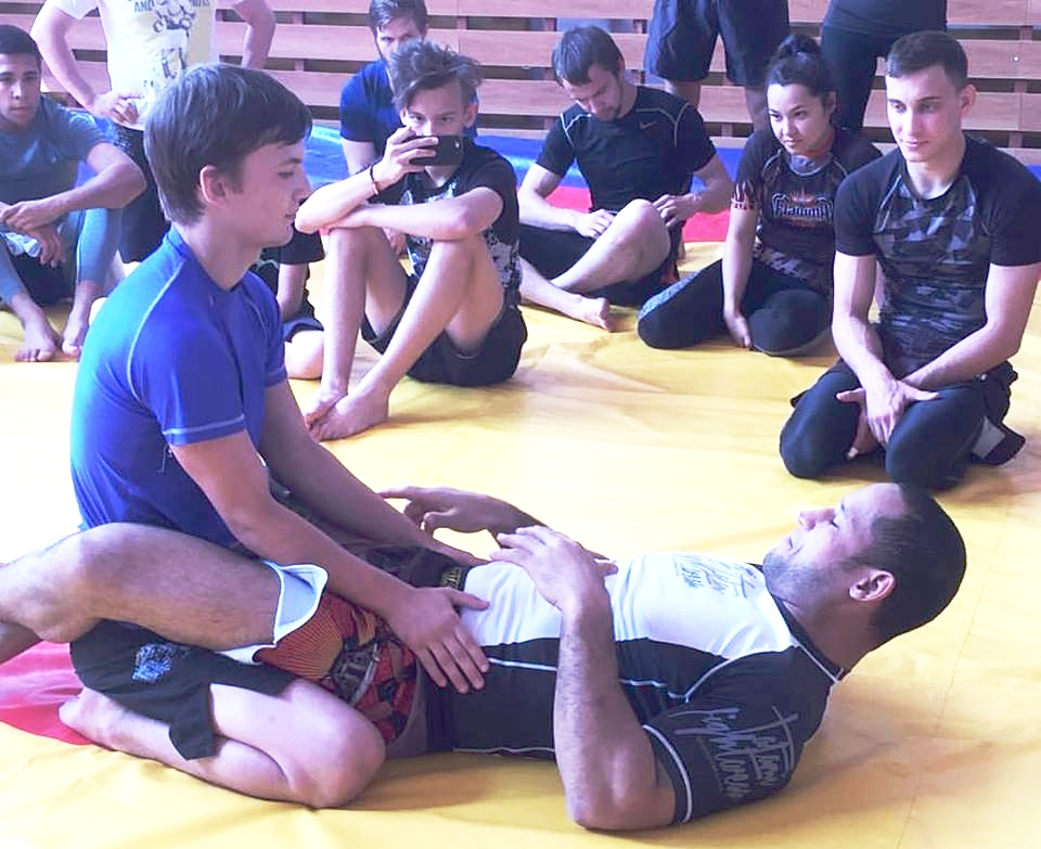 COURSES AND SEMINARS - SPORTSWe can organize a private seminar or course for your employees or friends with program adapted to your specific needs:principles of self-defense for womencombat course for armed forcescross-training course of ground fighting to students of other martial artsseminar on energy management under pressure with elements of strengthening exercisesBUSINESSOur team cooperates with a neuropsychologist specialized in corporate HR consulting. We can help your team and managers develop their competencies in areas of:effective leadership with elements of neuroleadership trainingemployee engagement on the basis of neurosciencecooperation, teamwork, conflict solving and mediationpersonal wellness managementall BJJ related skills: strategic thinking, problem solving, assertiveness, emotion regulation