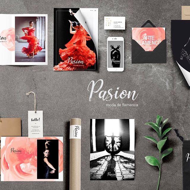 Branding for Pasion flamenca ❤️❤️❤️