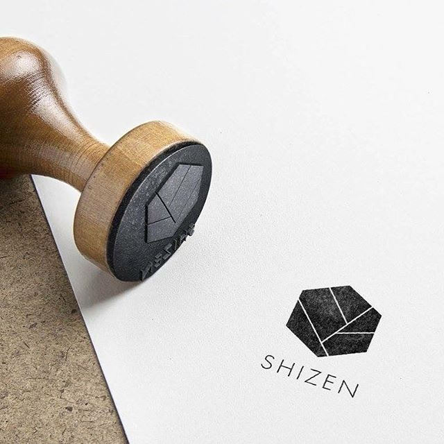 Logo design for @shizen_flowershop 🖤🖤🖤