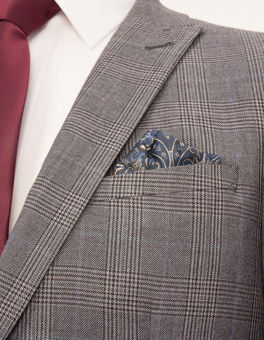 Prince of Wales Suit Fabric