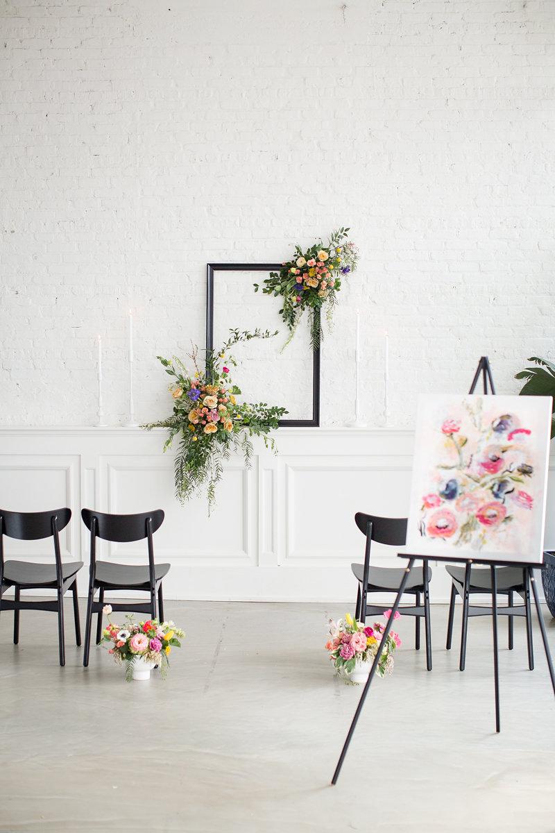 Floral Decor Chicago Wedding Alexandra Lee Photography
