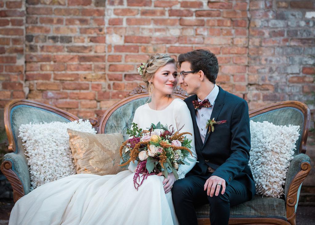 Bride and Groom Portrait Chicago Wedding Inspired Eye Photography