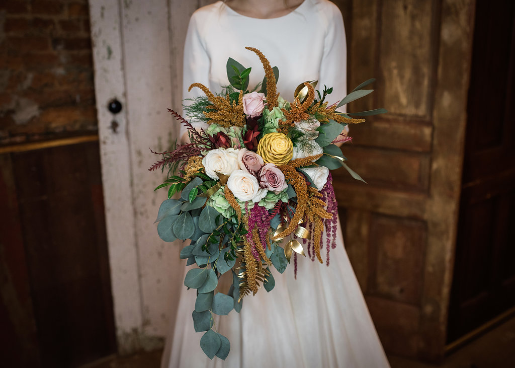 Floral Bridal Bouquet Chicago Wedding Inspired Eye Photography