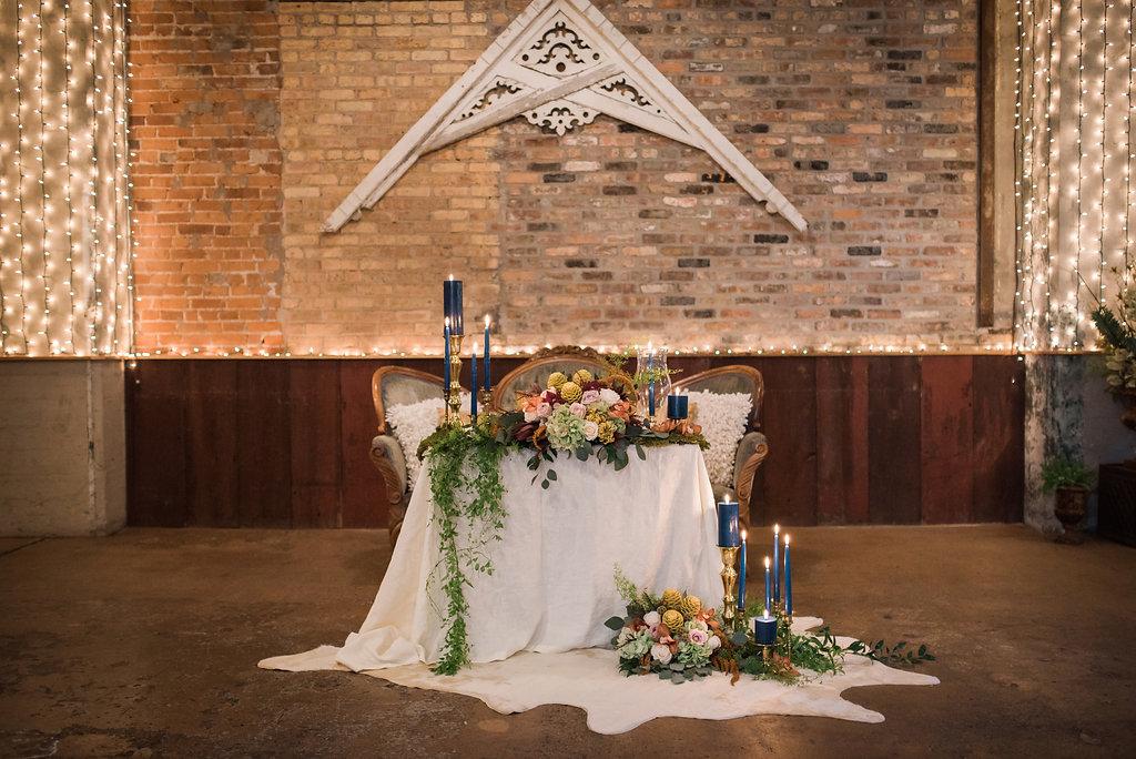 Sweetheart Table Chicago Wedding Inspired Eye Photography
