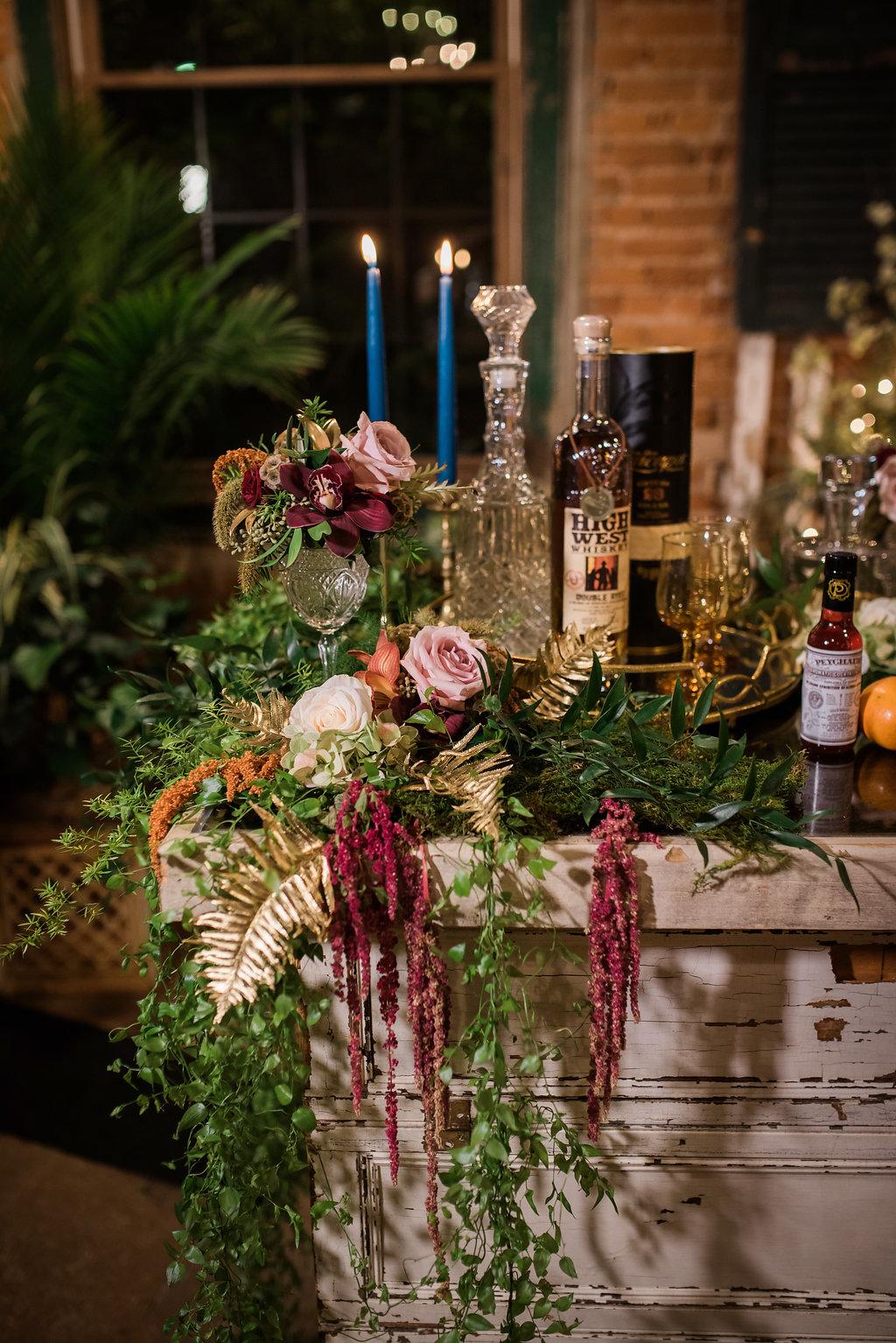 Greenery Table Setting Chicago Wedding Inspired Eye Photography