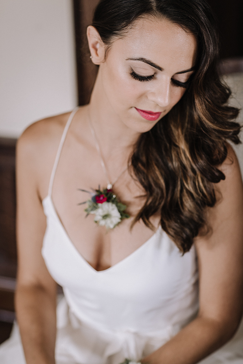 Vibrant Lip Color Chicago Wedding lisa kathan photography