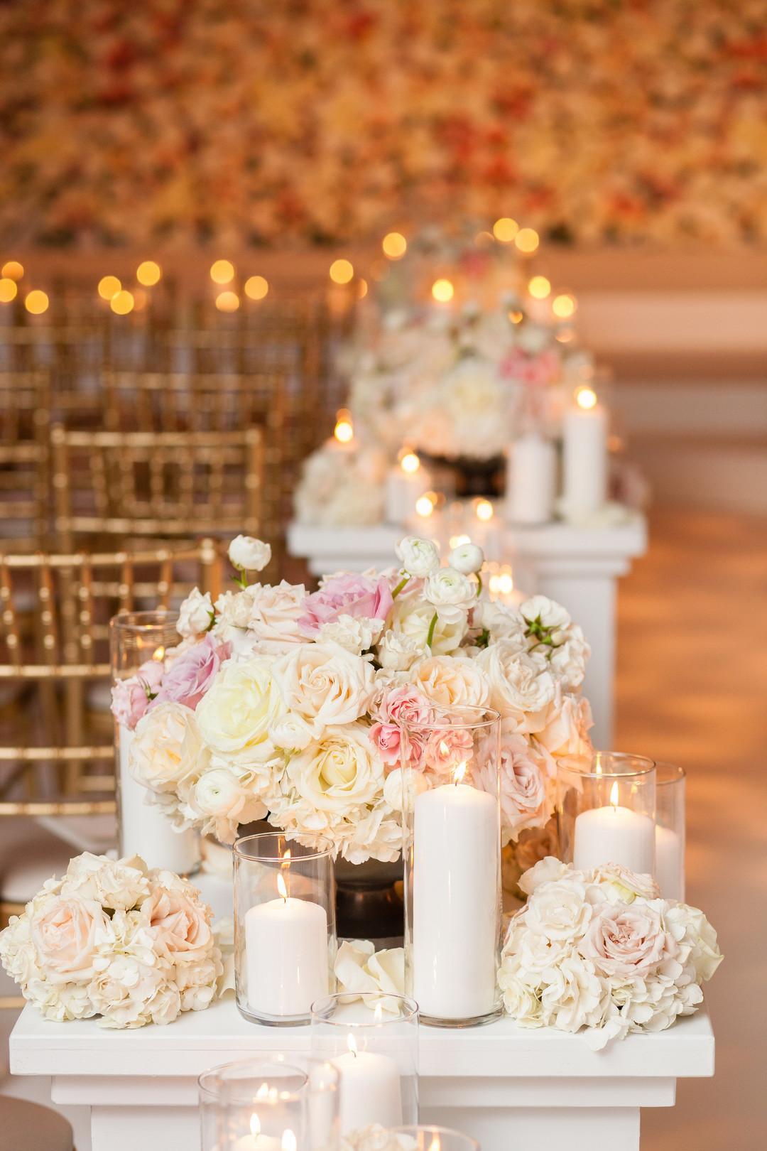 Glamorous Chicago Aisle Wedding Ceremony Emilia Jane Photography