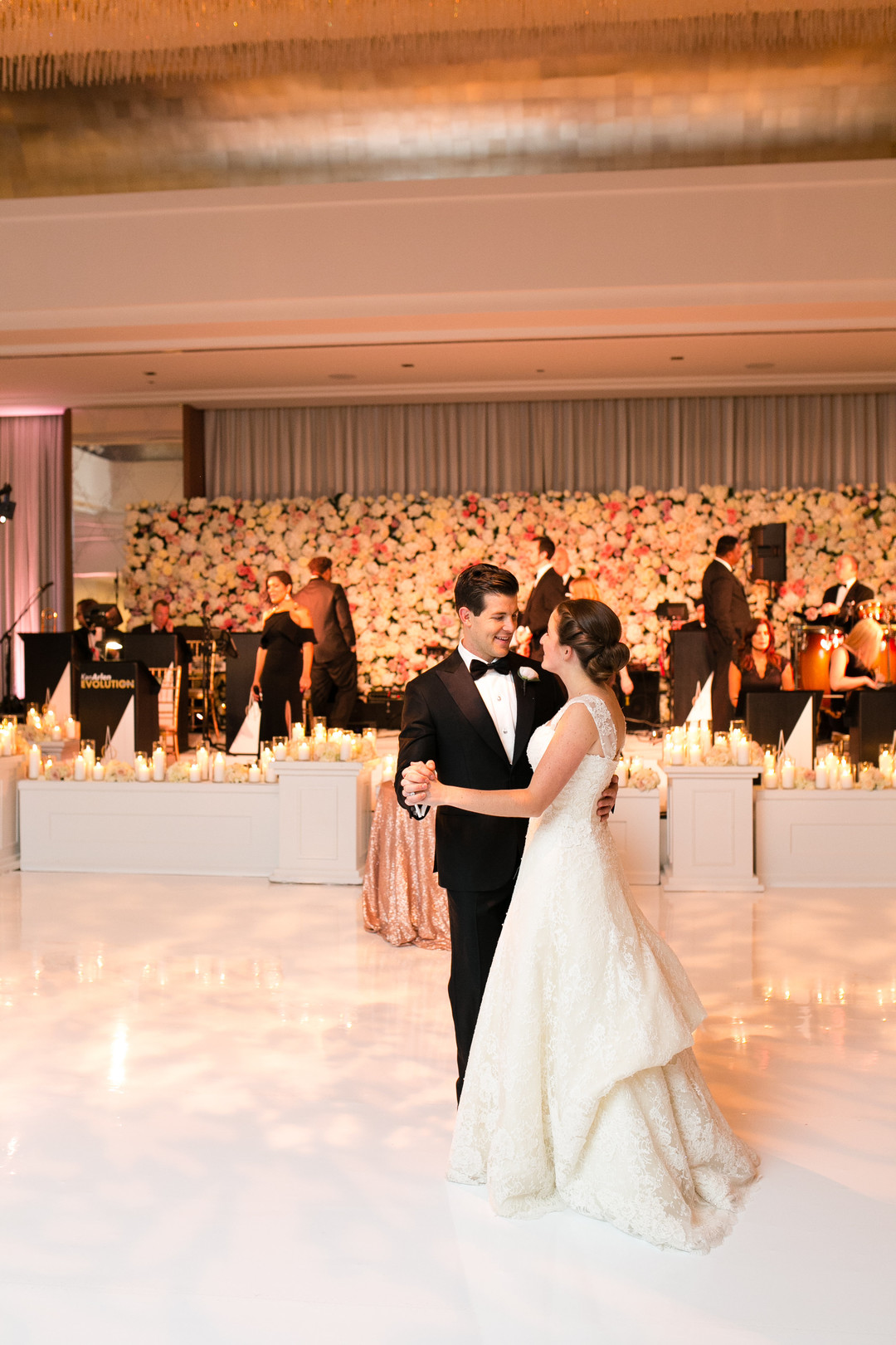 Bride and Groom First Dance Chicago Wedding Emilia Jane Photography