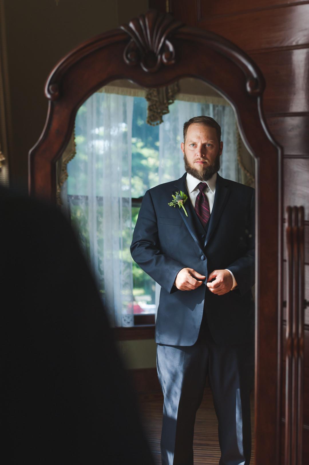 Black Groom Suit Chicago Wedding Elite Photography
