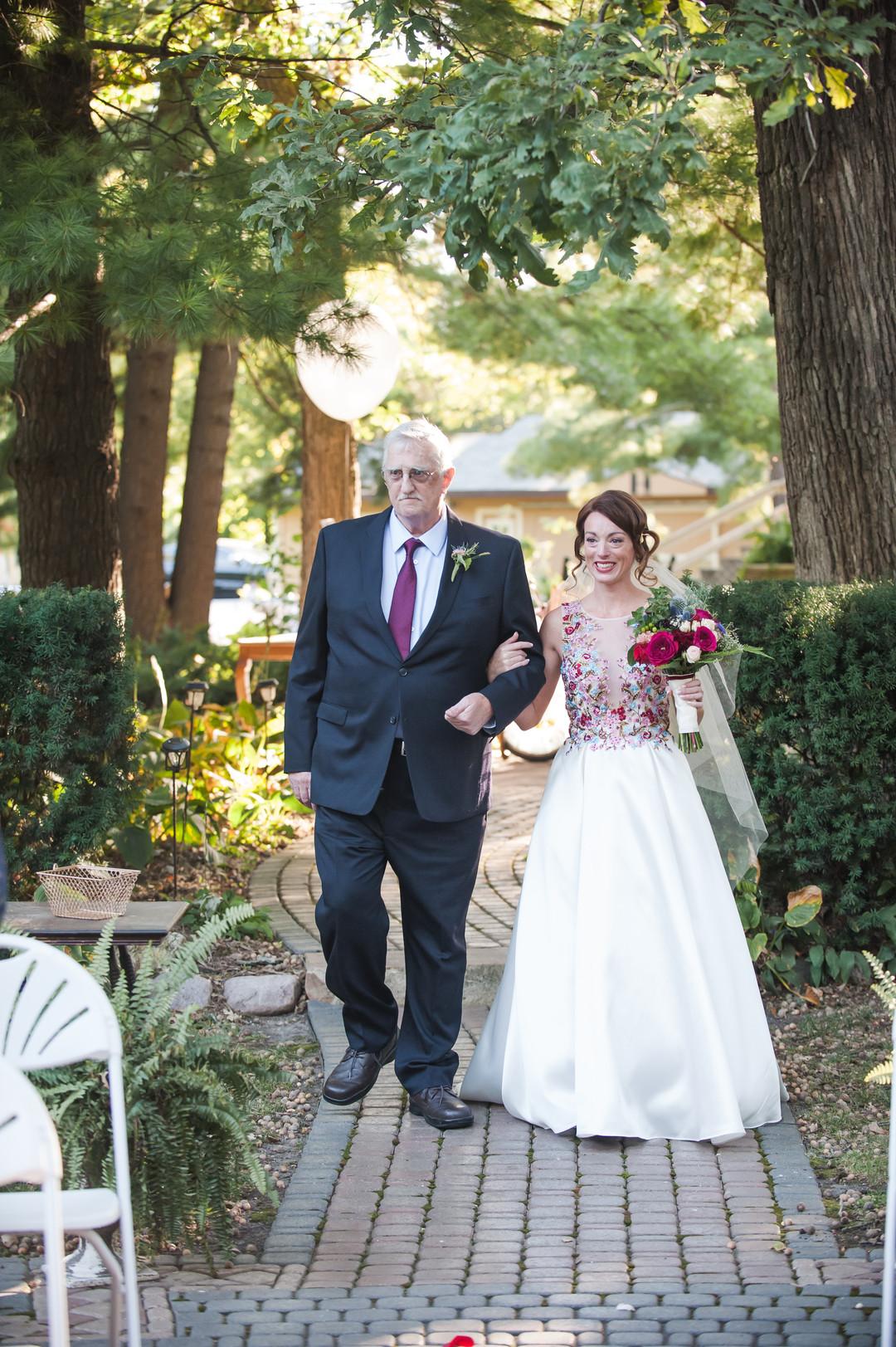 Bridal Entrance Chicago Wedding Ceremony Elite Photography