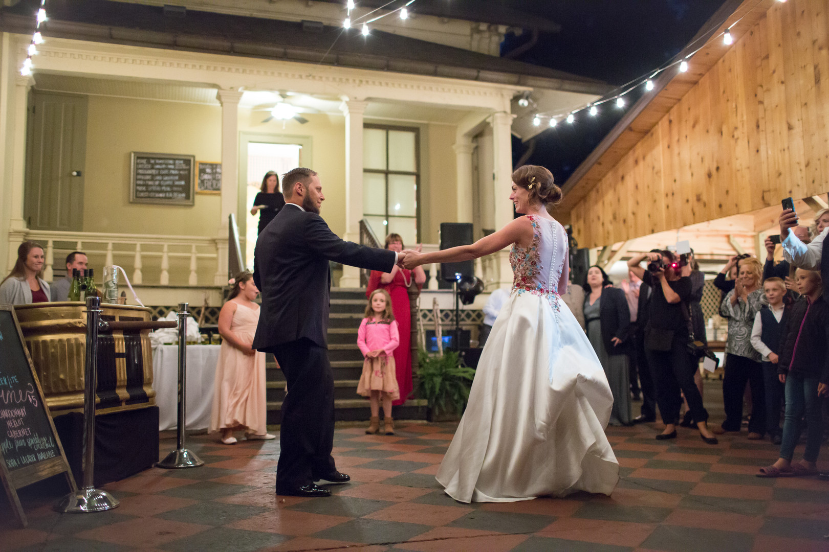 Bride and Groom First Dance Chicago Wedding Elite Photography