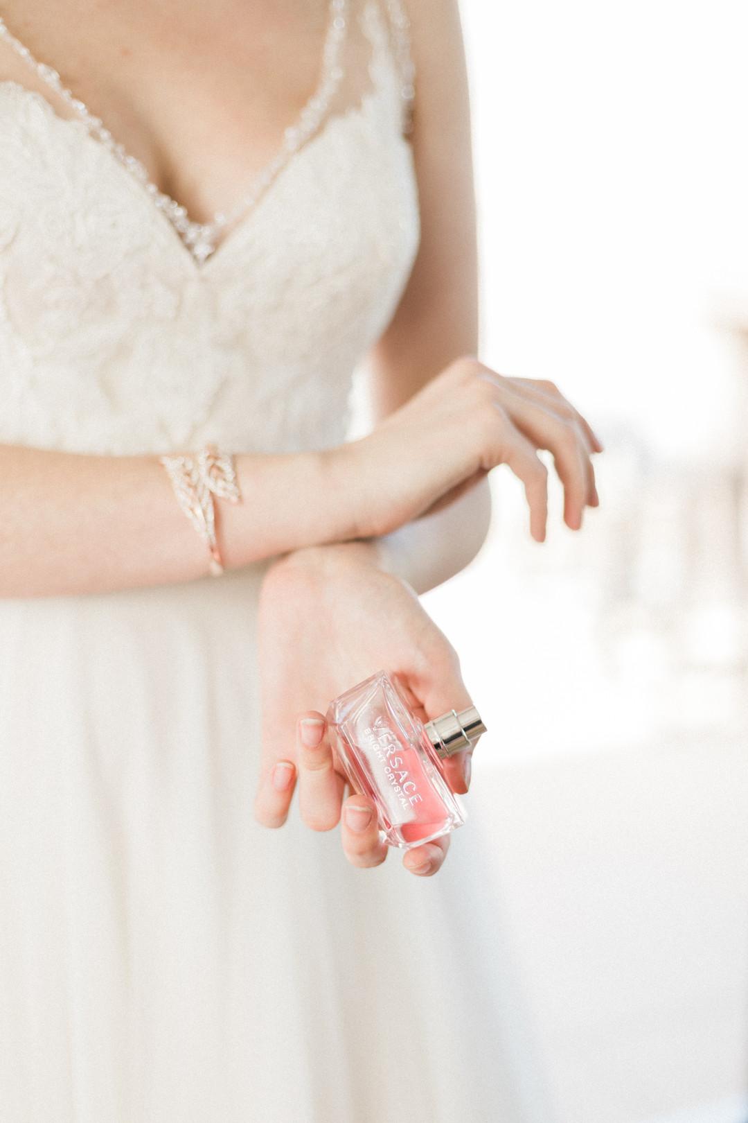 Romantic Bridal Portrait Chicago Wedding Stephanie Wood Photography