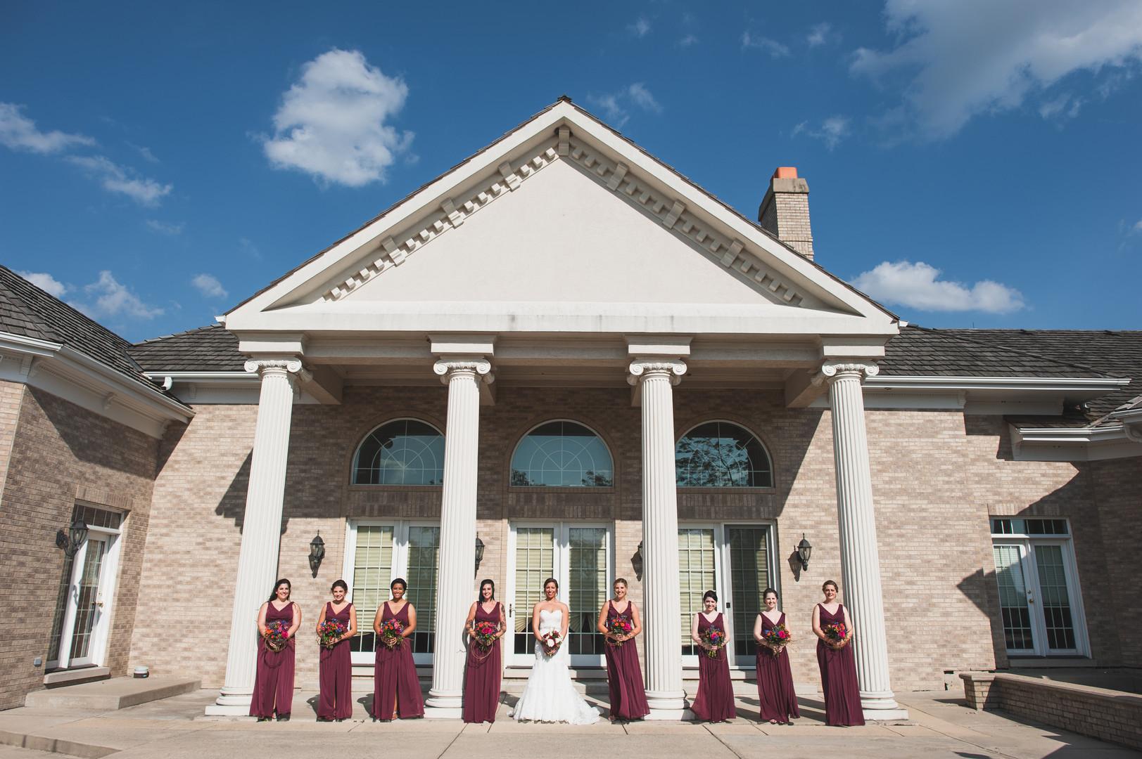 Elegant Bridal Party Chicago Wedding Elite Photo