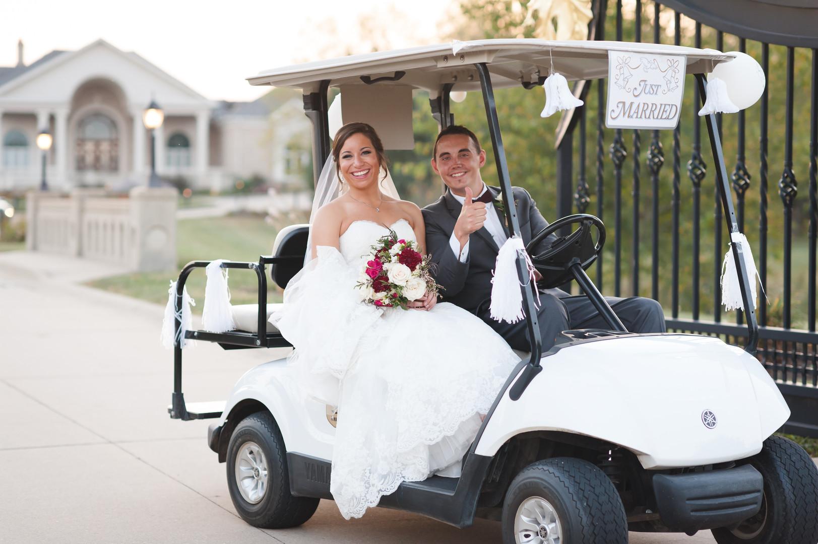 Bride and Groom Chicago Winery Wedding Elite Photo