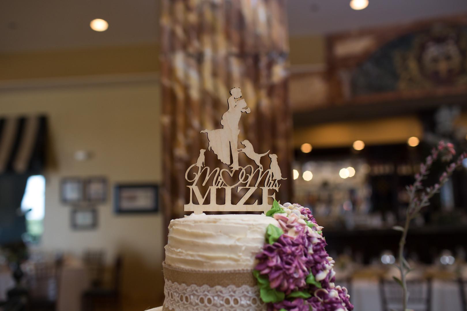 Customize Wedding Cake Topper Chicago Winery Wedding Elite Photo