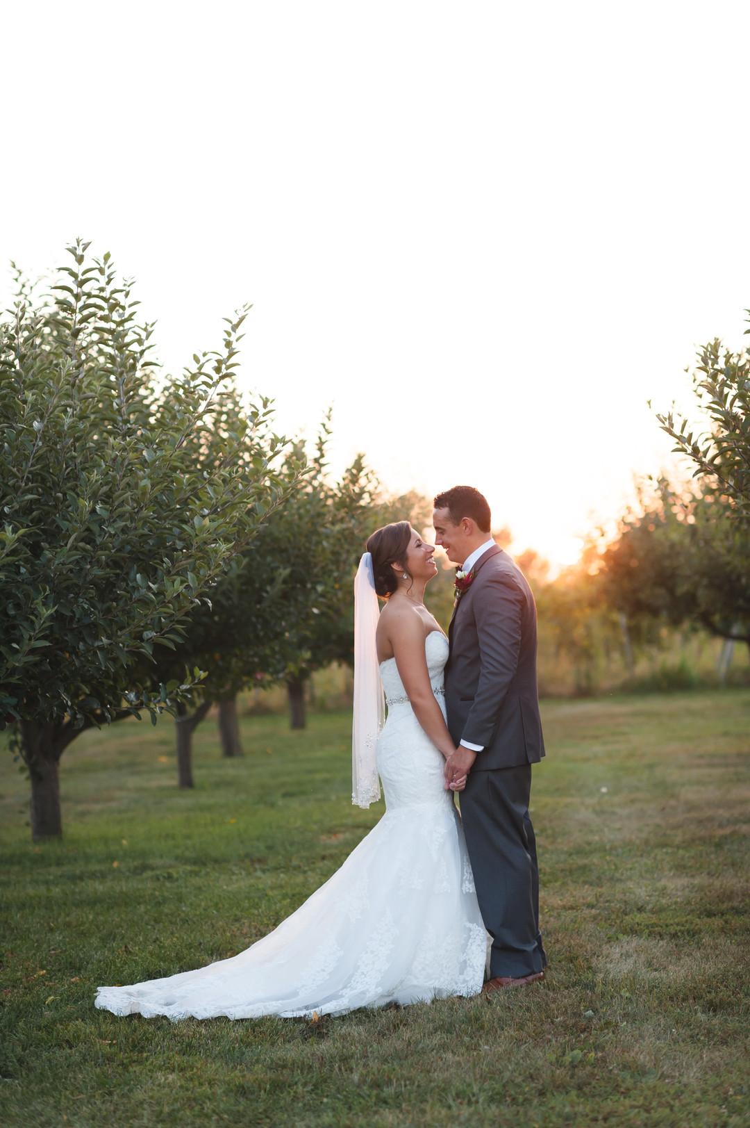 Bride and Groom Portrait Chicago Wedding Elite Photo