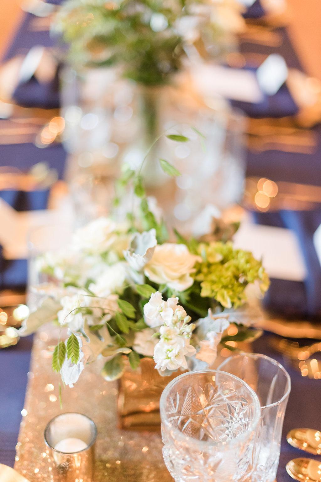 Floral Center Pieces Chicago Wedding Rakoteet Photography