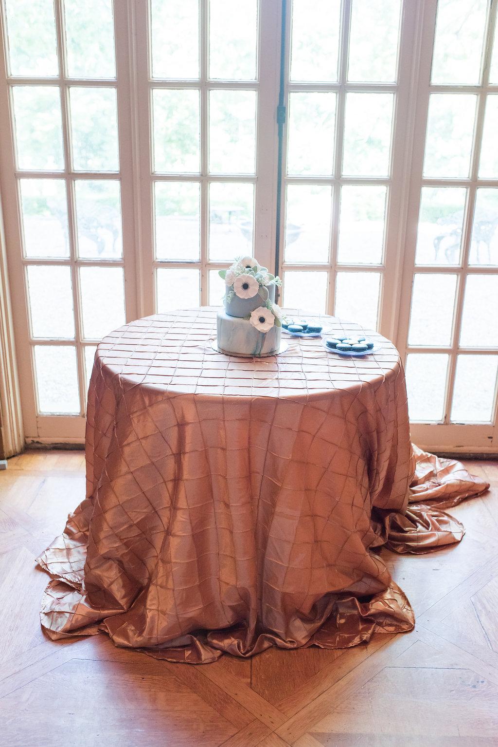 Blue Wedding Cake Chicago Wedding Rakoteet Photography