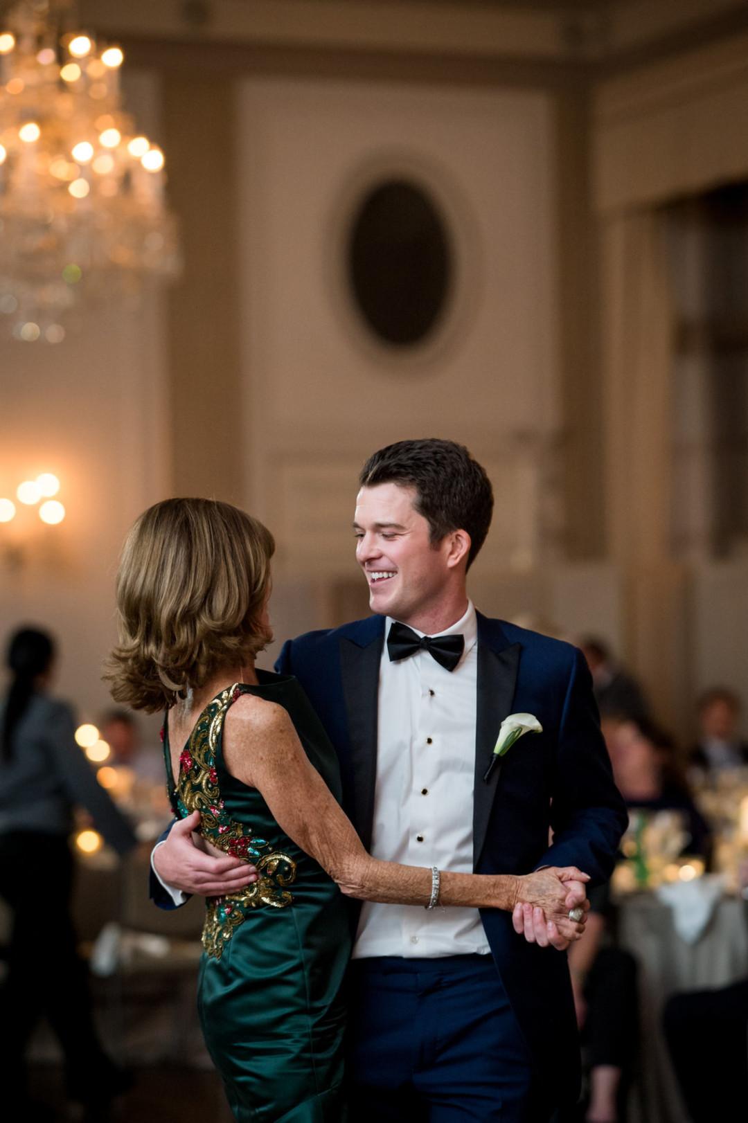 Mother Son Dance The Standard Room Chicago Wedding Julia Franzosa Photography