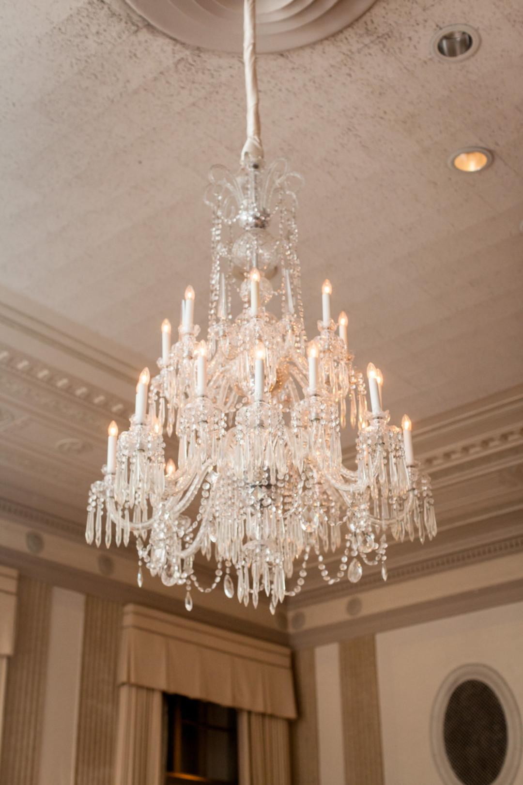 Elegant Chandelier The Standard Room Chicago Wedding Julia Franzosa Photography