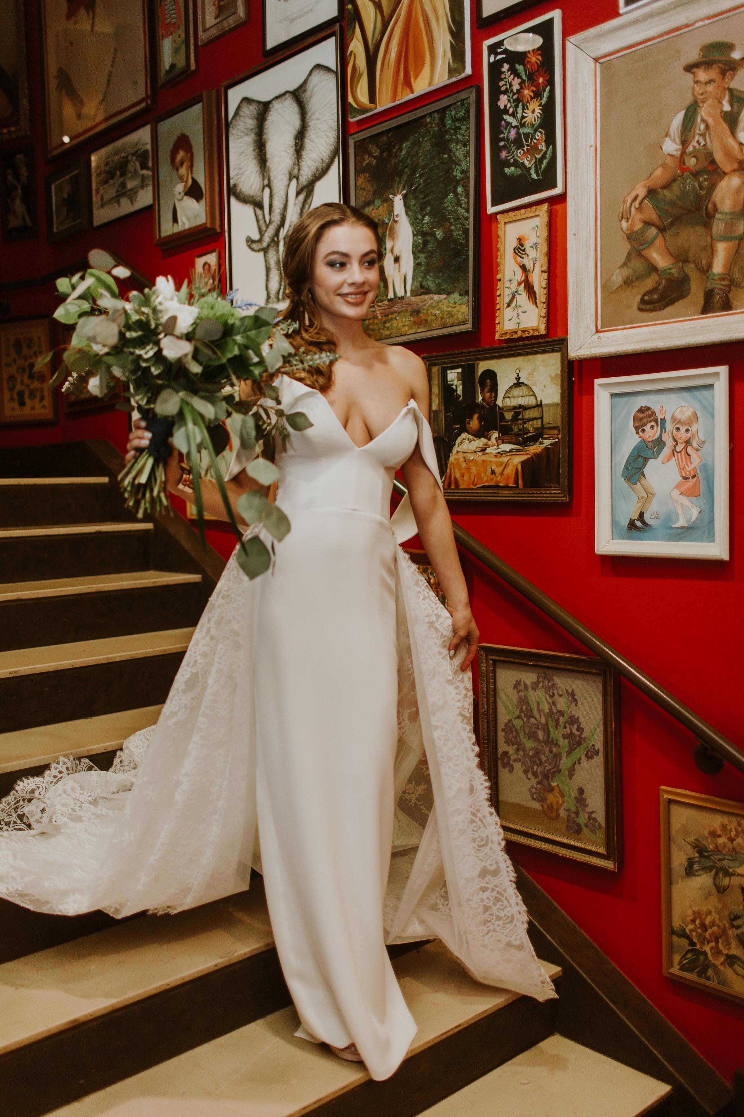 Bridal Portrait Chicago Wedding Gabrielle Daylor Photography
