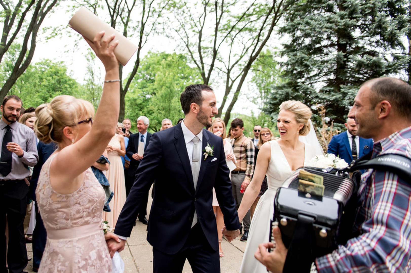 Candid Bride and Groom Chicago Wedding Julia Franzosa Photography