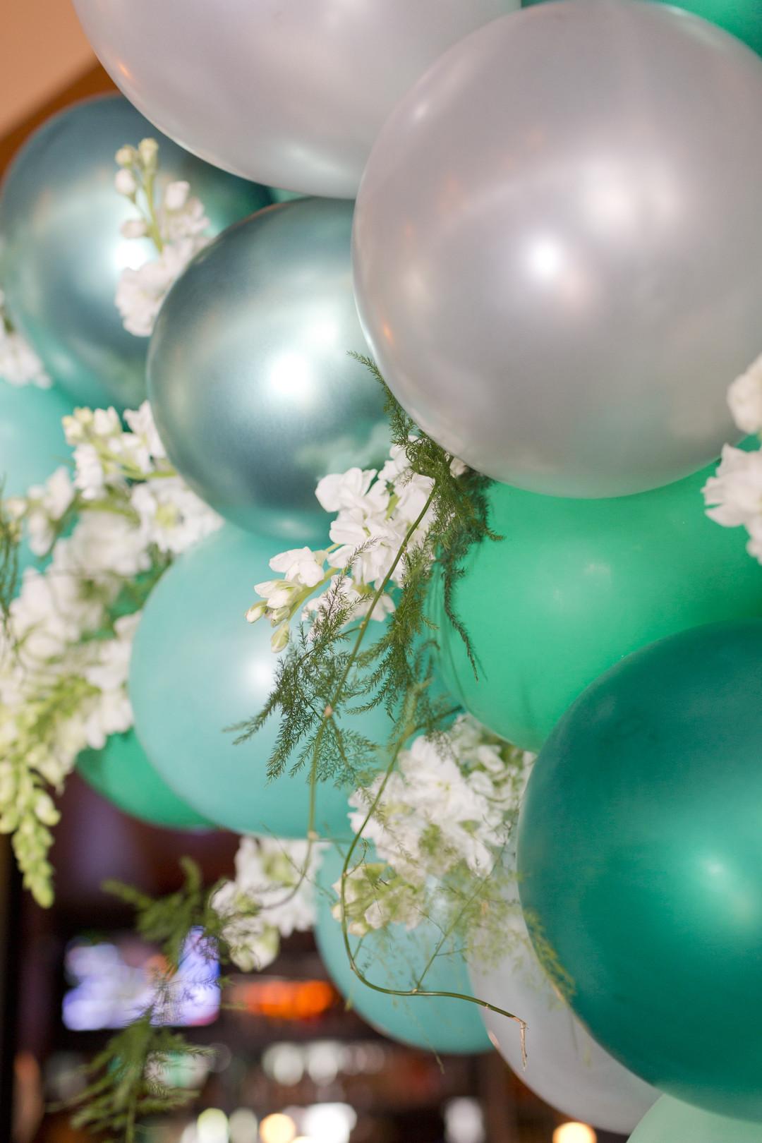 Bridal Balloons Mint Green Bridal Shower Degrees North Images