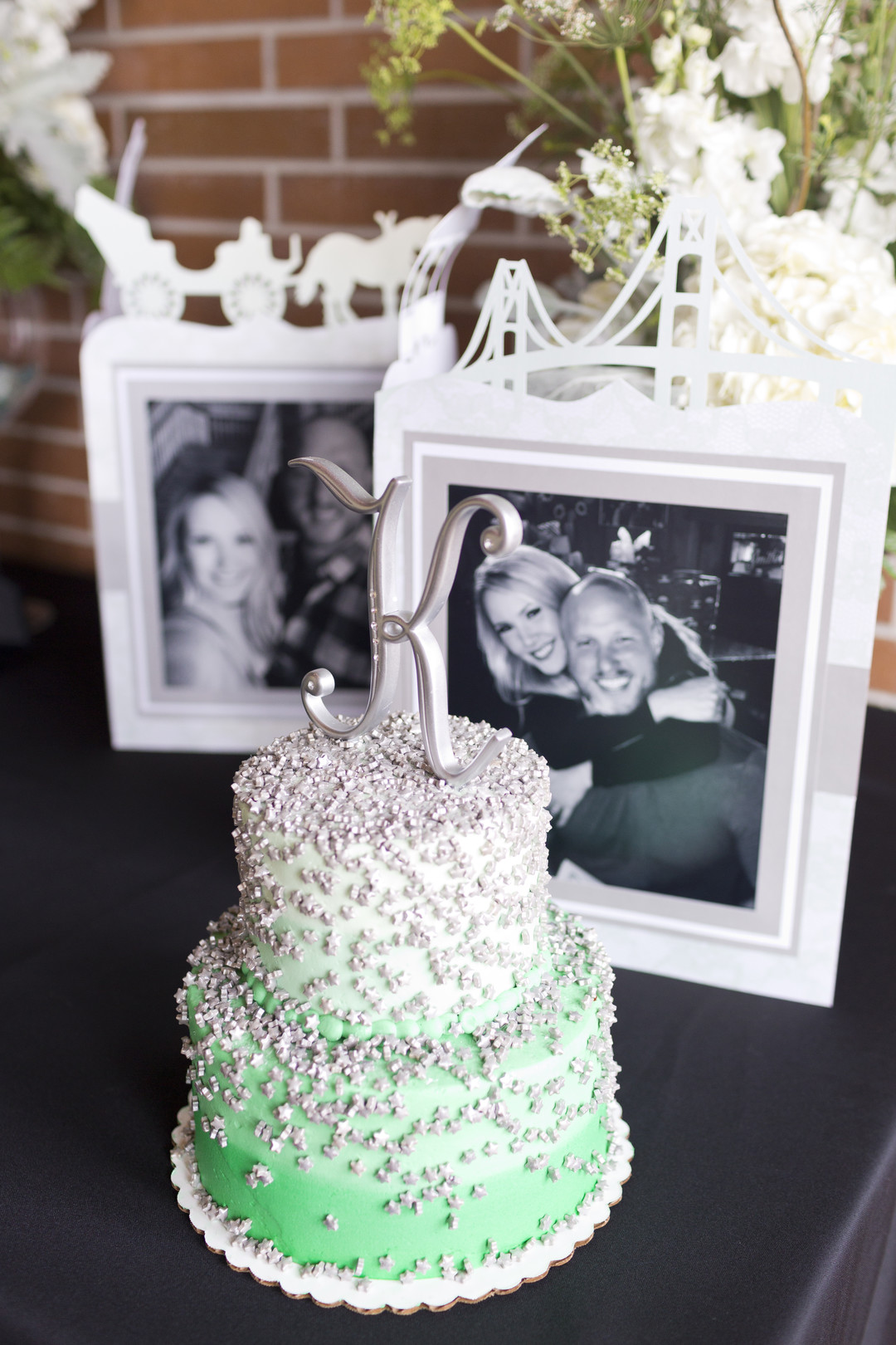 White and Green Cake Degrees North Images