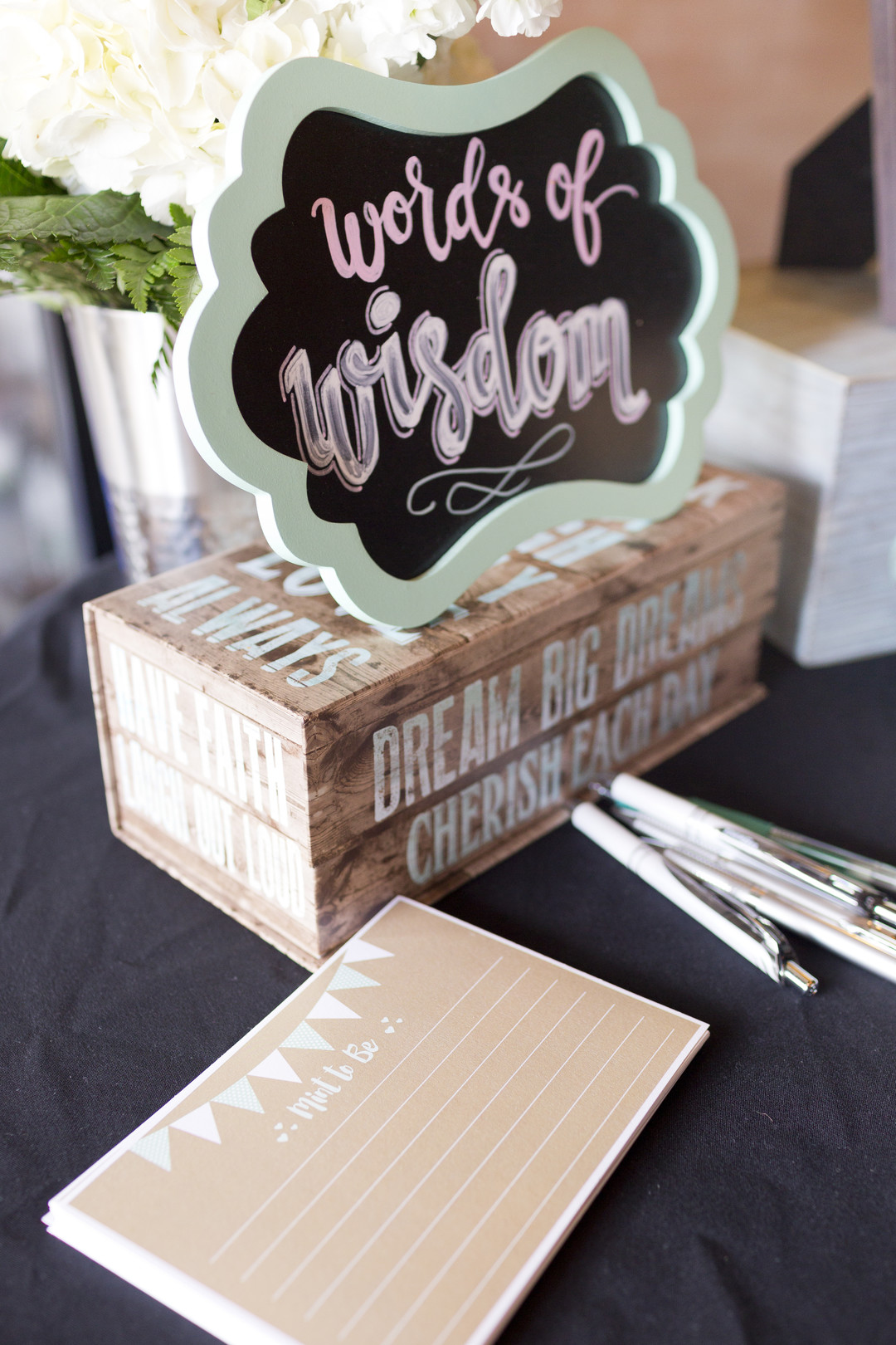 Mint Green Bridal Shower Degrees North Images