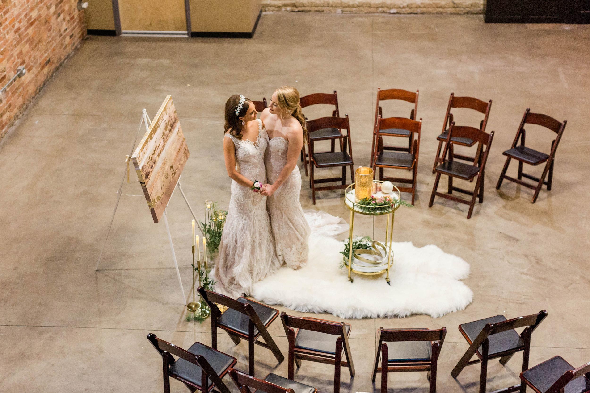 Intimate LGBTQ Chicago Wedding Photography by Lauryn