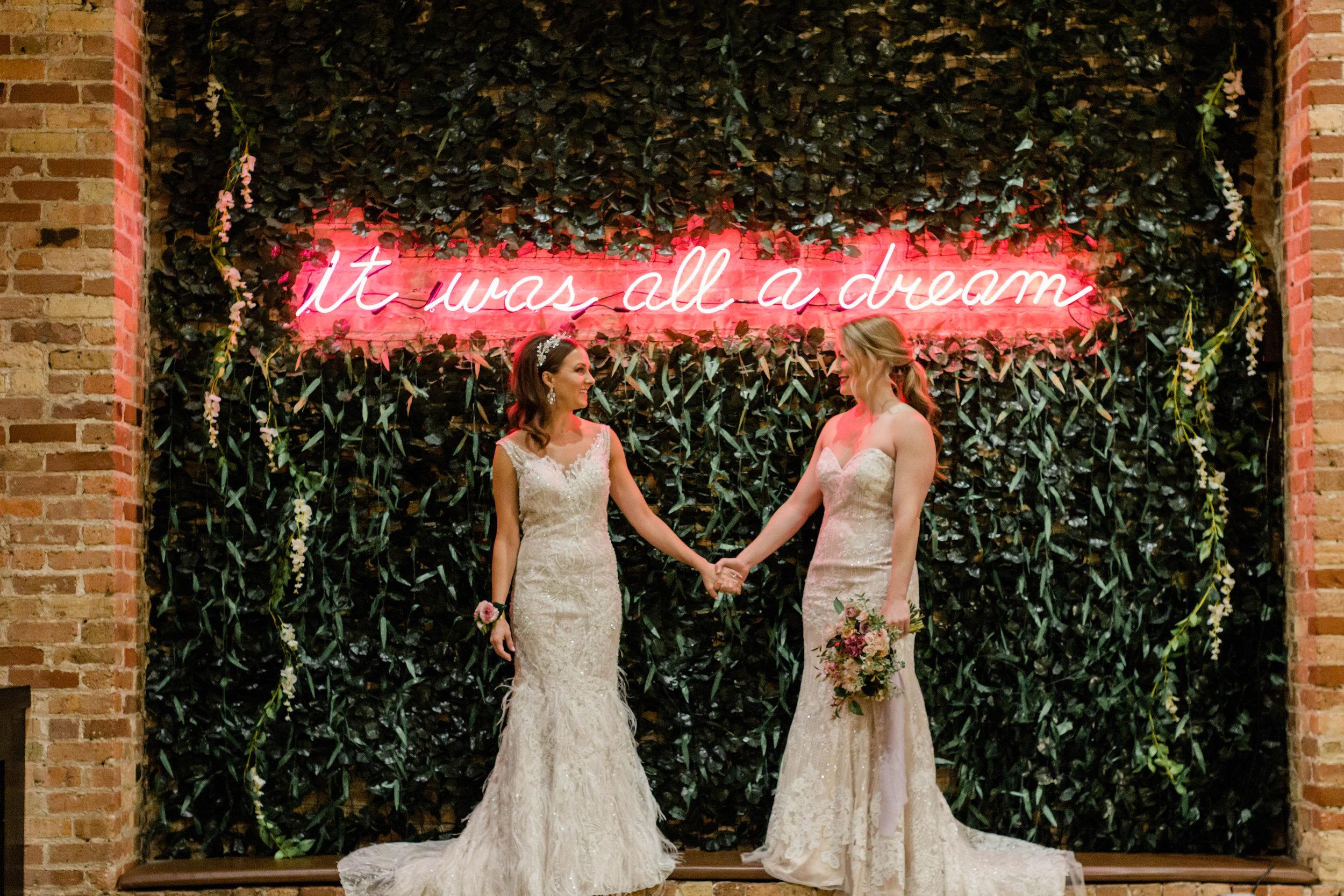 LGBTQ Chicago Wedding Photography by Lauryn