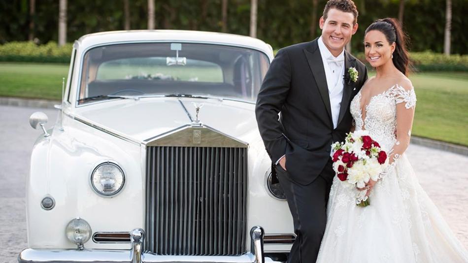 Anthony Rizzo Wedding -  MLB
