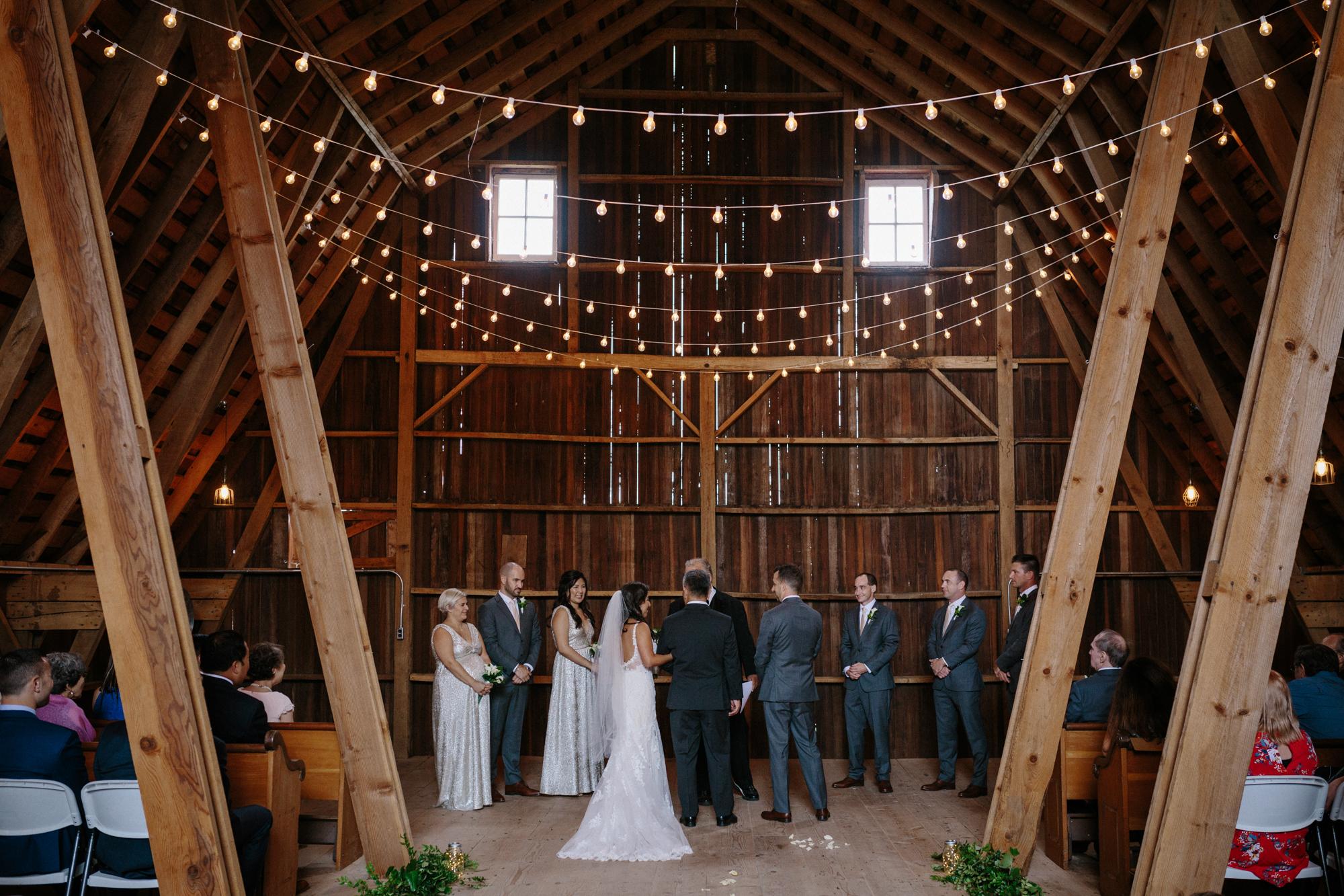 Chicago Barn Wedding lisa kathan photography