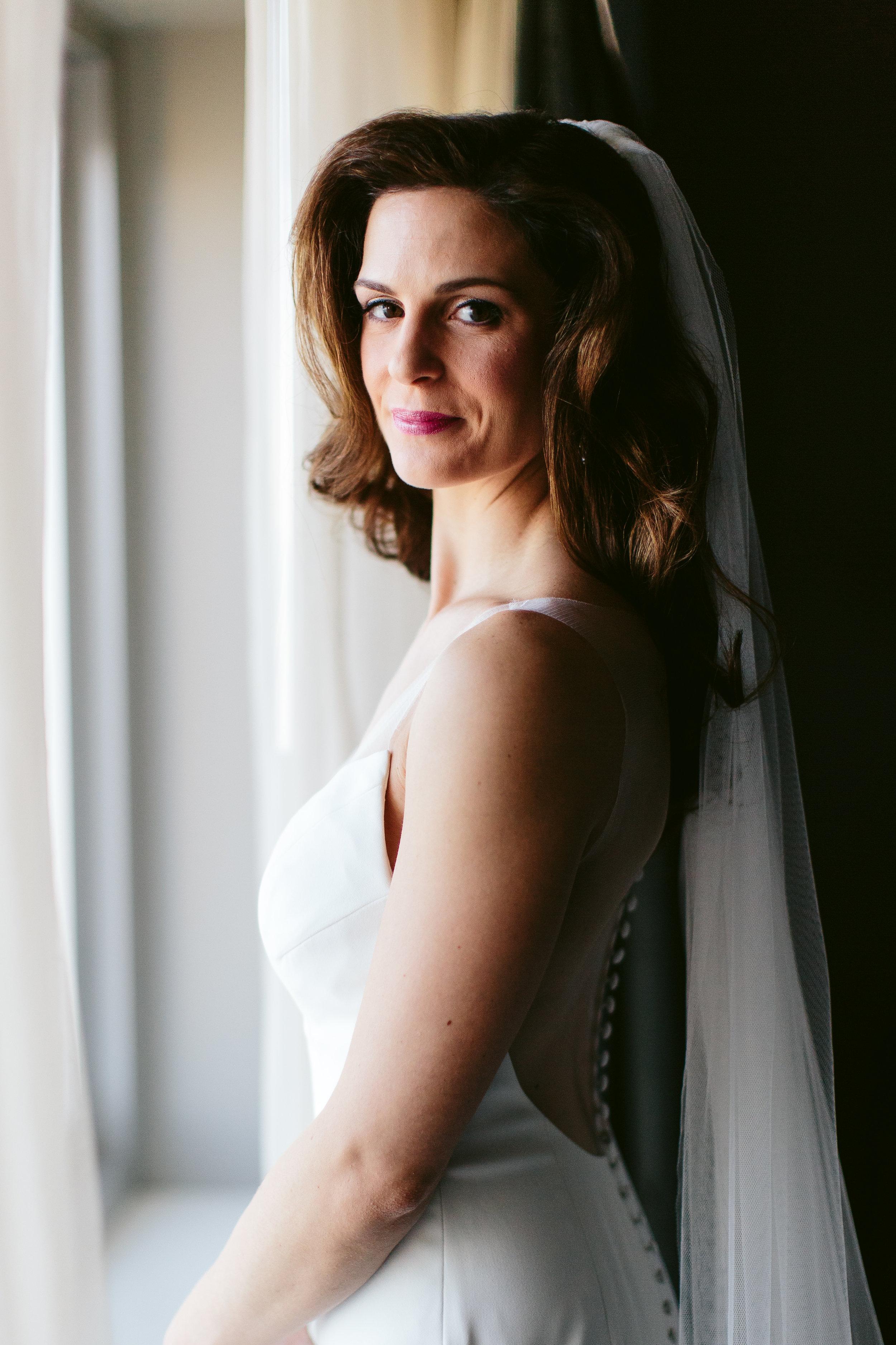 Bridal Portrait Chicago Wedding Nicodem Creative