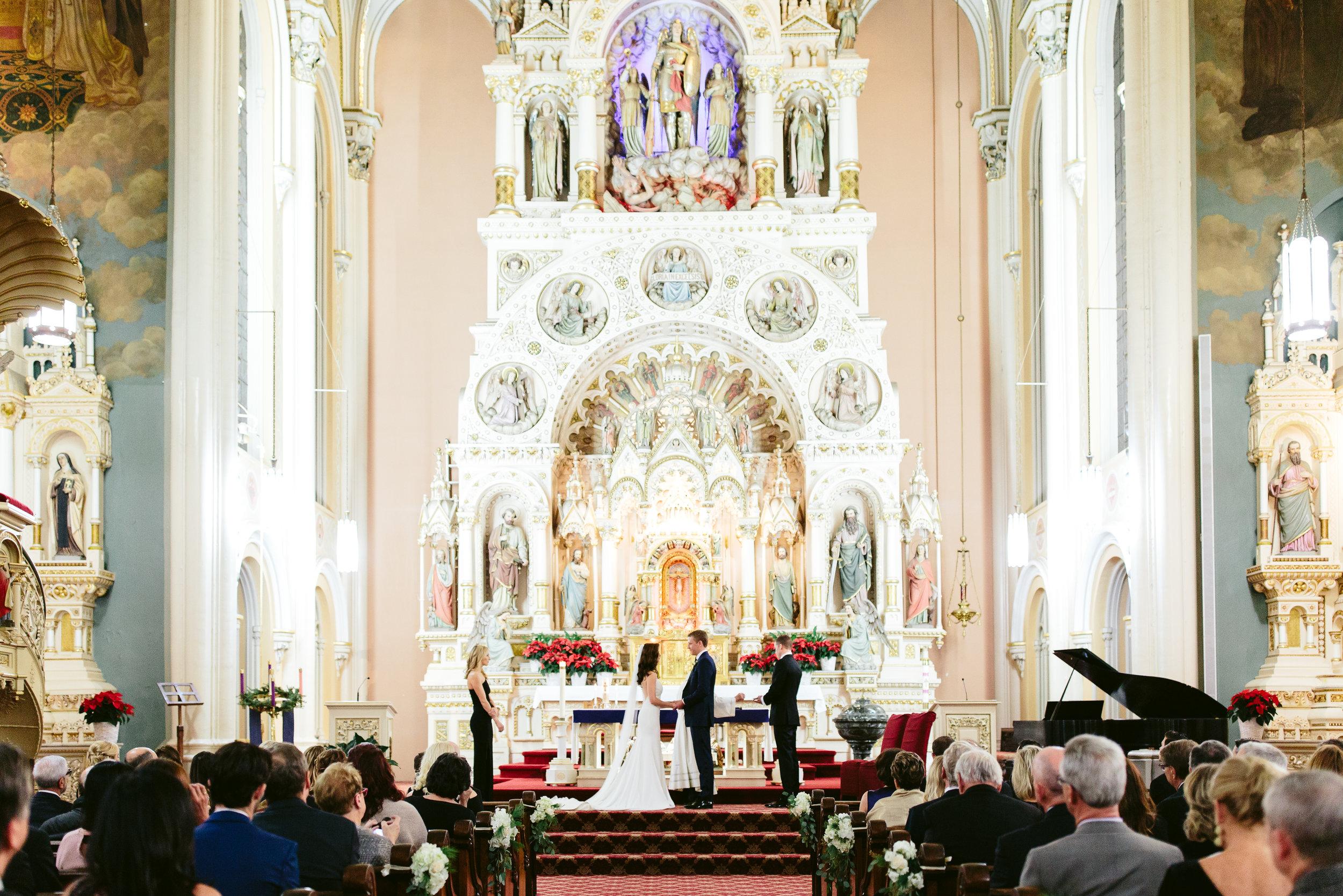 St Michael Old Town Chicago Wedding Ceremony Nicodem Creative