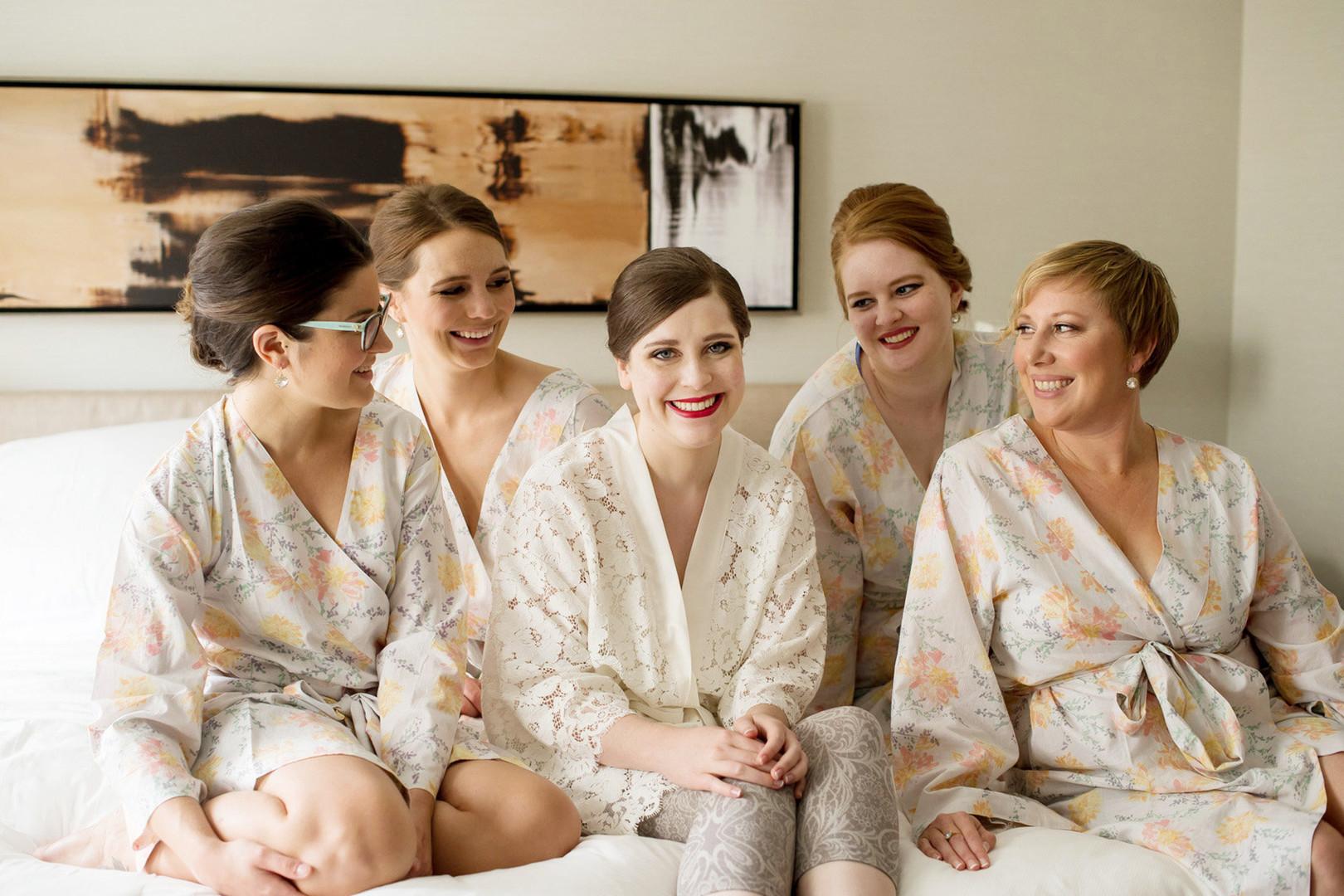 Bridal Party Robes Julia Franzosa Photography