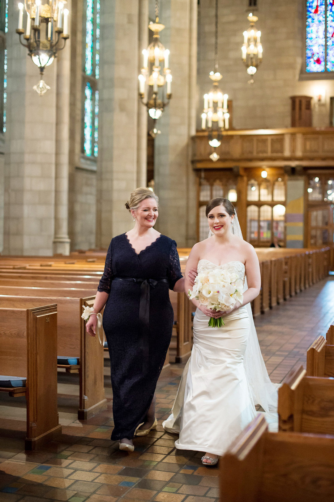 Fourth Presbyterian Church Bridal Entrance Chicago Wedding Julia Franzosa Photography