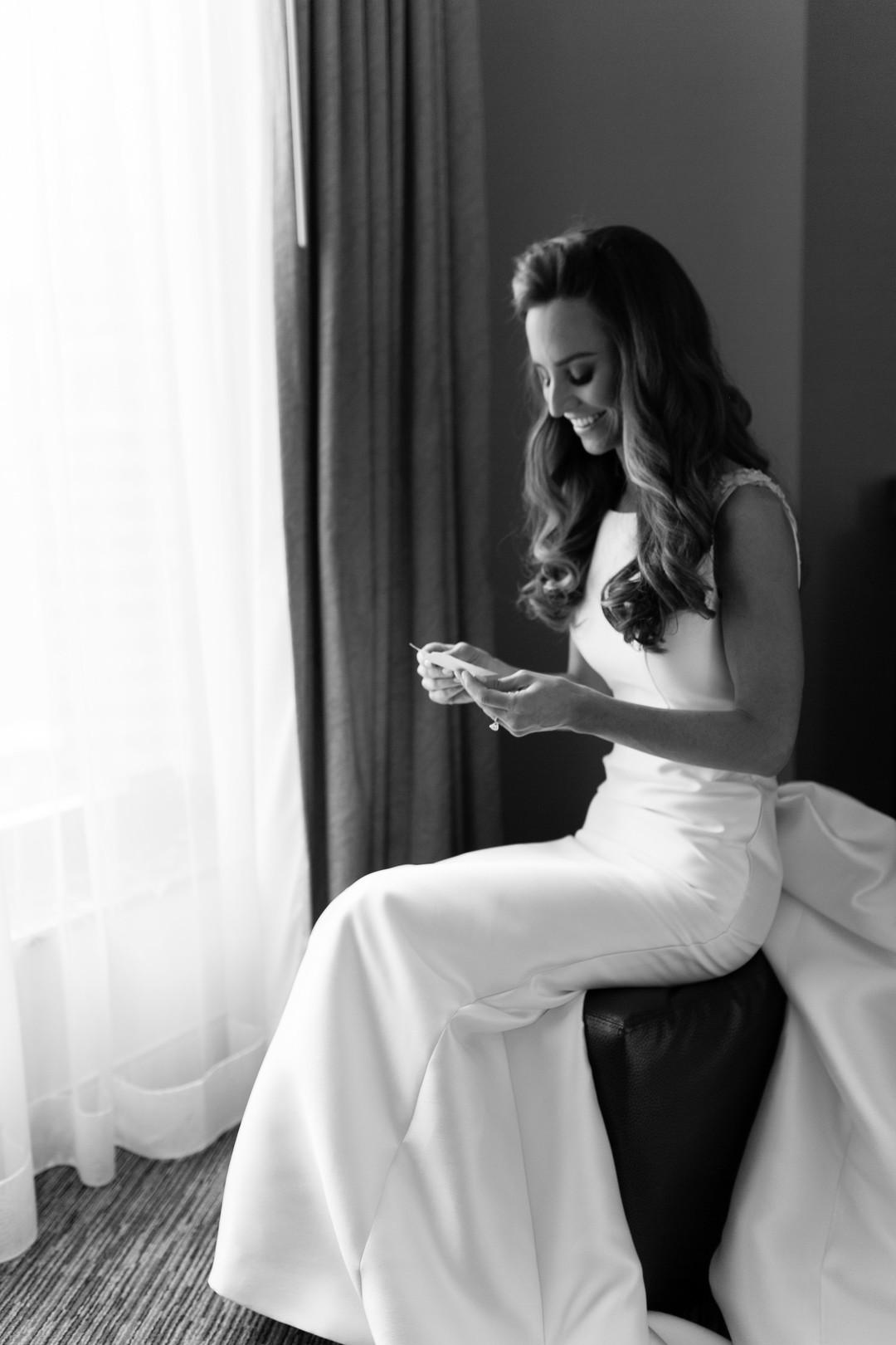 Elegant Bride Chicago Wedding Emilia Jane Photography
