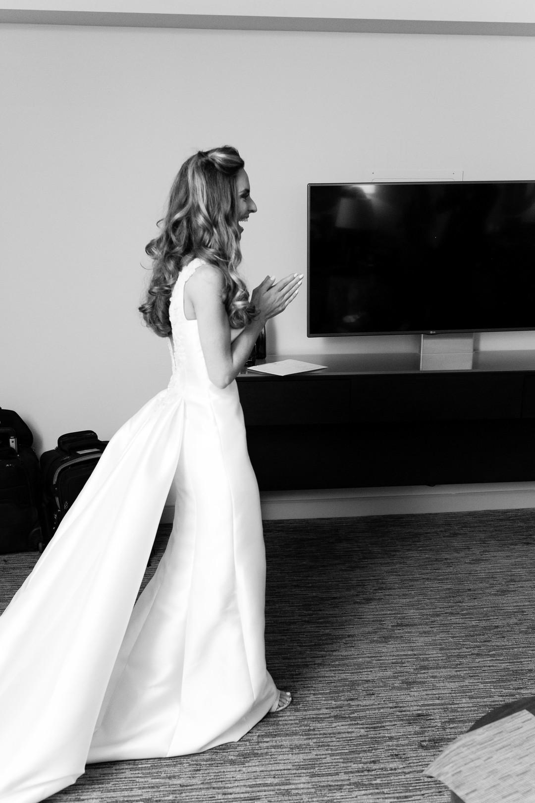 Silk Wedding Gown Chicago Wedding Emilia Jane Photography