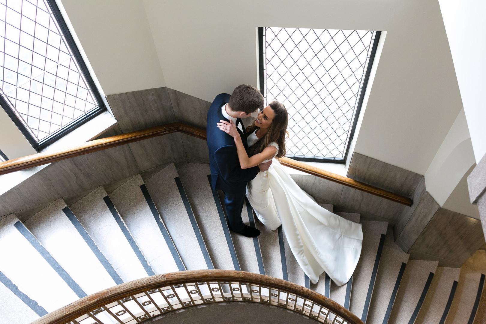 Bride and Groom Portrait Chicago Wedding Emilia Jane Photography