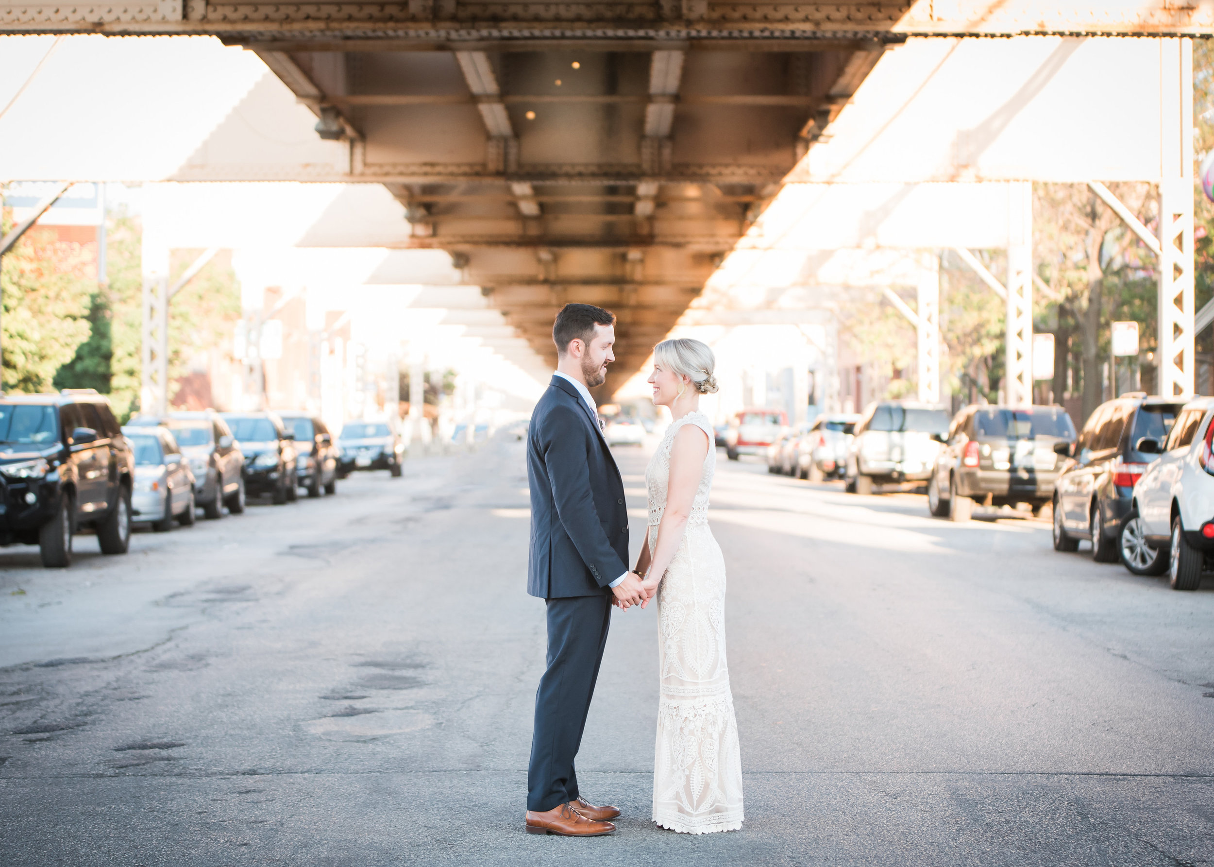 Traditional, yet creative West Loop Chicago wedding captured by Inspired Eye Photography. See more creative wedding ideas at CHItheeWED.com!
