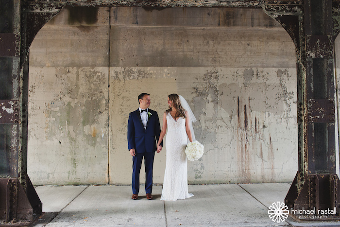 Sweet and intimate Evanston outdoor wedding captured by Michael Rastall Photography. See more wedding ideas at CHItheeWED.com!