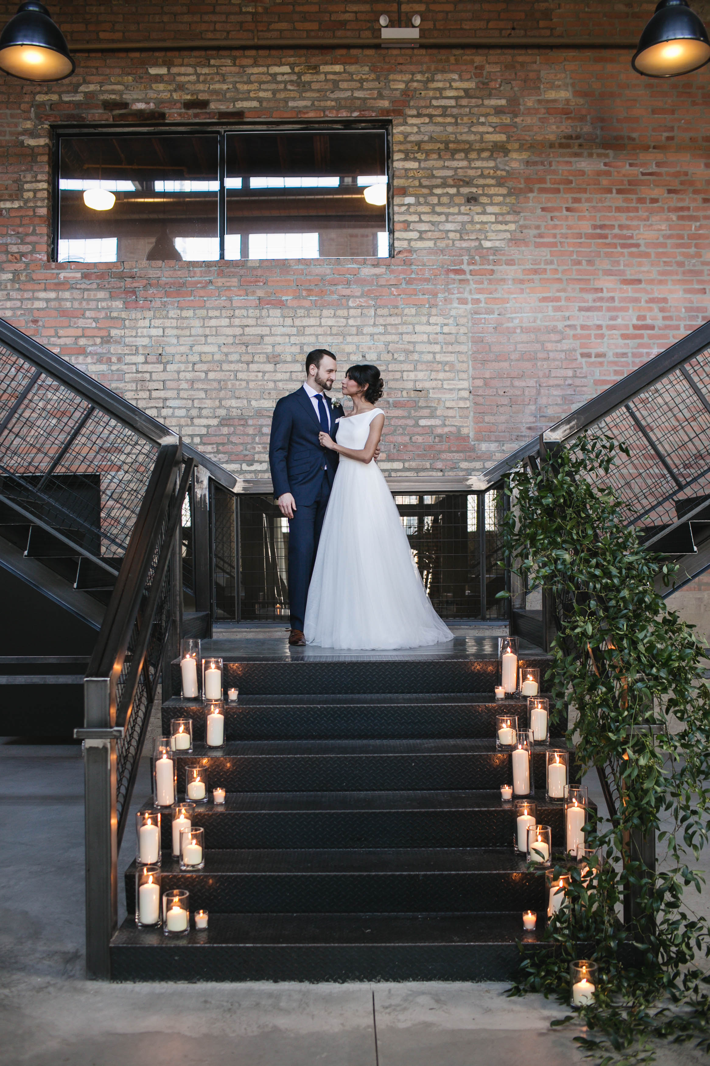 Romantic wedding styled shoot at Chicago's newest wedding venue, Fairlie, captured by Michelle Cox Photography. See more wedding ideas at CHItheeWED.com!