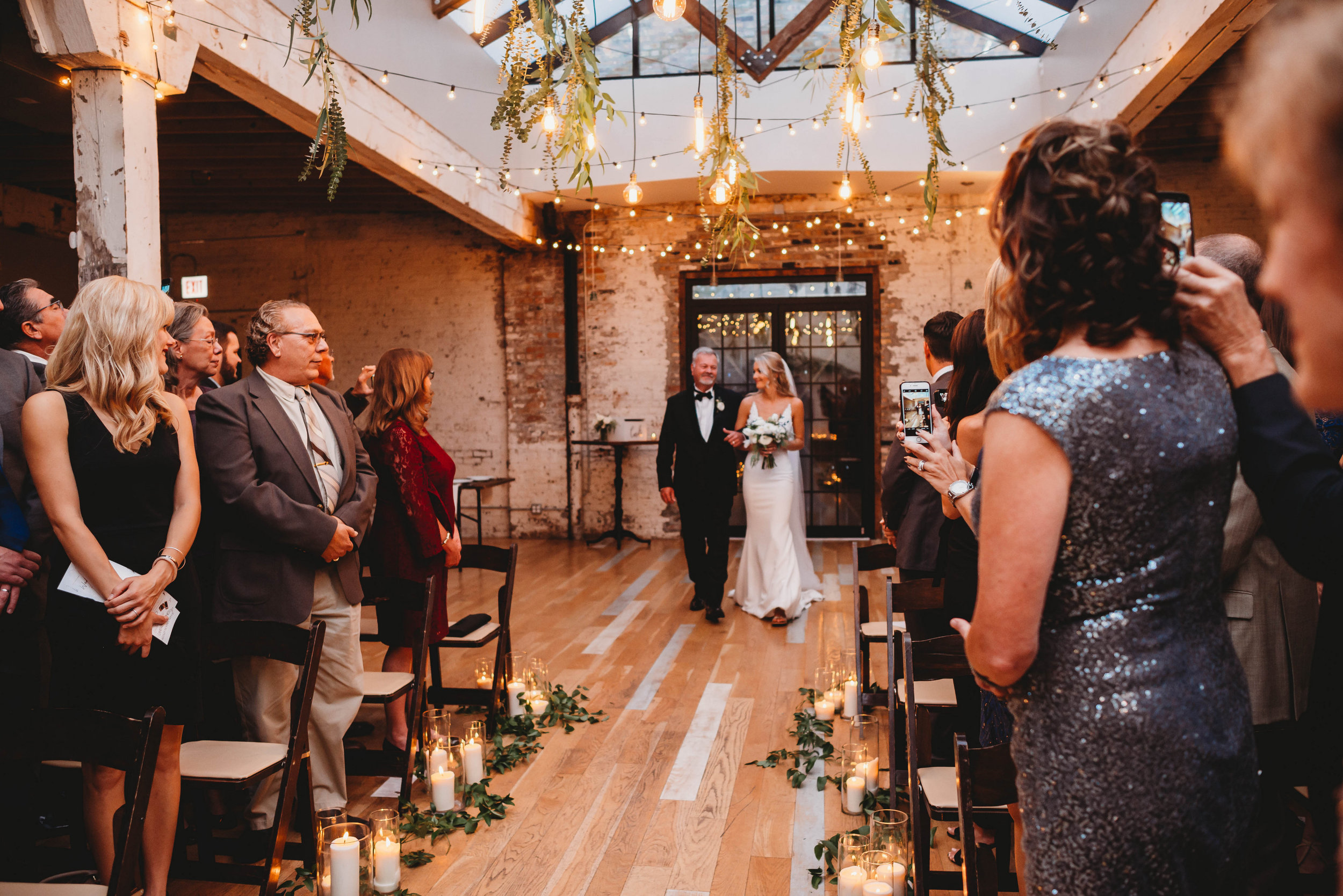 Copy of Elegant Chicago garden wedding at The Joinery captured by Girl with the Tattoos Fine Art Photographer. See more elegant wedding ideas at CHItheeWED.com!