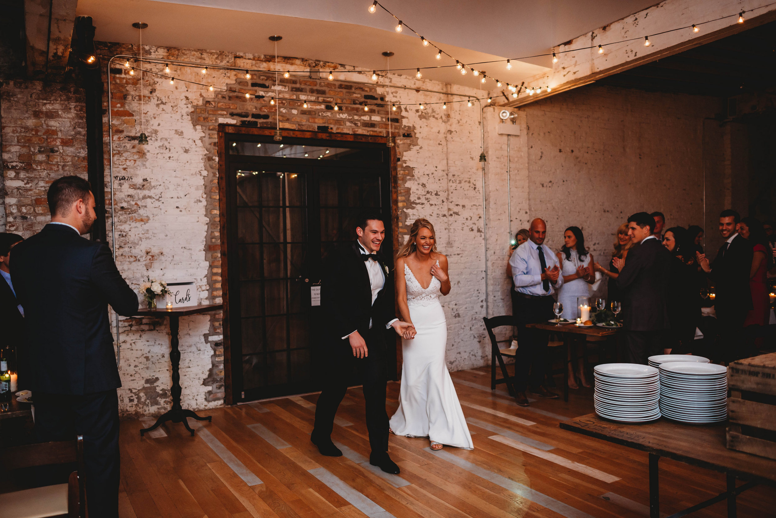 Elegant Chicago garden wedding at The Joinery captured by Girl with the Tattoos Fine Art Photographer. See more elegant wedding ideas at CHItheeWED.com!