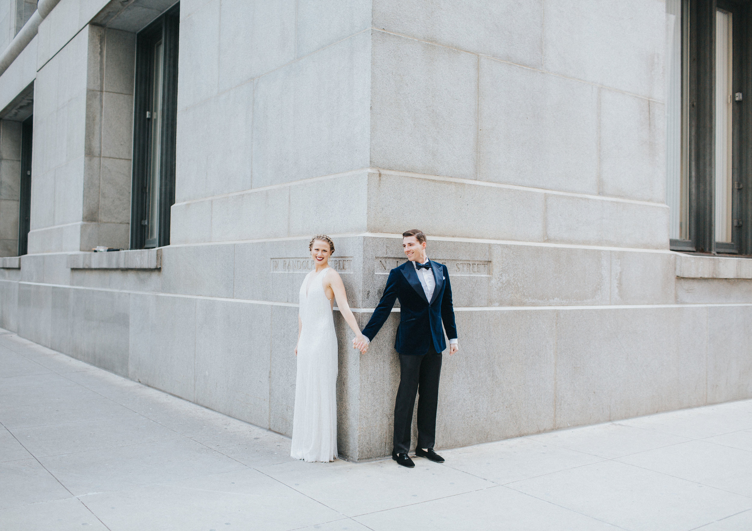 Cozy, intimate Chicago city hall elopement planned by Olive Fine Weddings and captured by Meg Adamik Creative. See more Chicago wedding ideas at chitheewed.com!