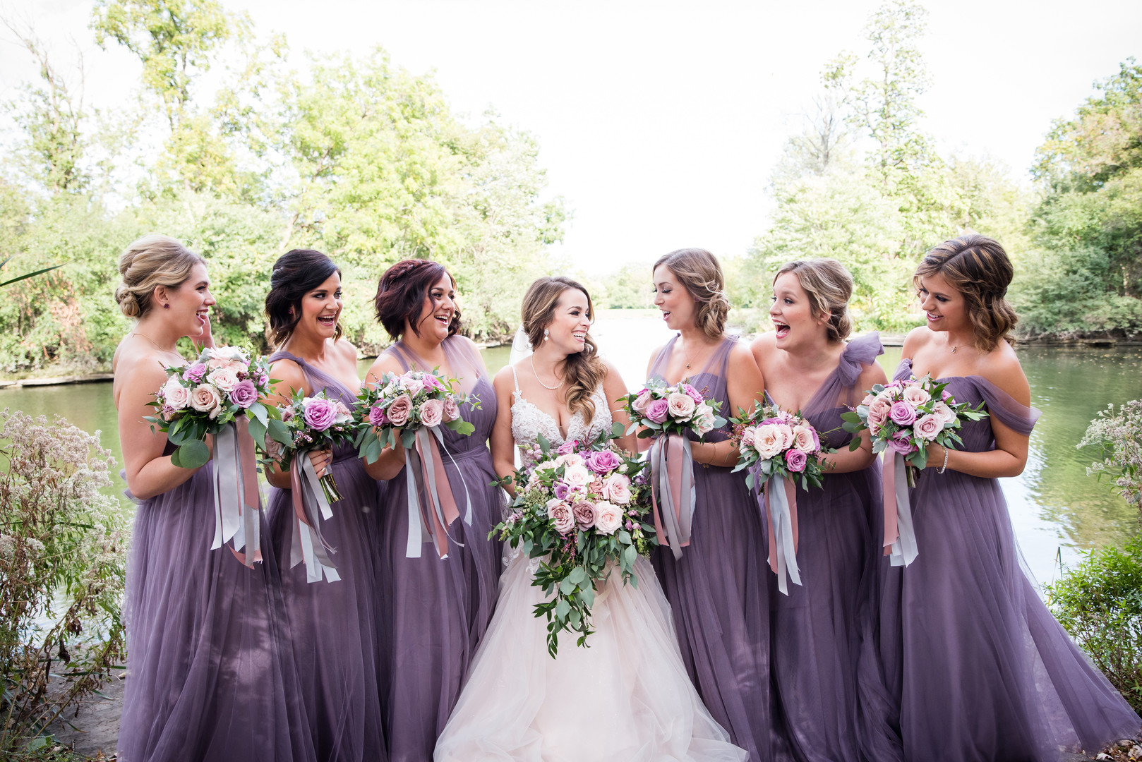 Woodsy Oak Brook, Illinois wedding captured by Inspired Eye Photography. See more wedding ideas at CHItheeWED.com!